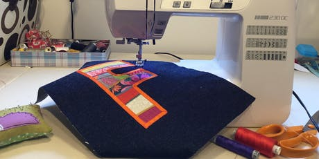 Sewing Skills for Beginners: Developing appliqué skills tickets