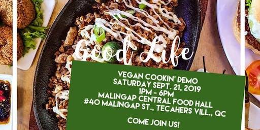 Vegan Cookin' Demo