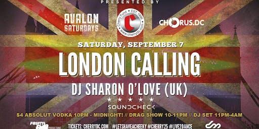 LONDON CALLING | DJ SHARON O'LOVE (UK)