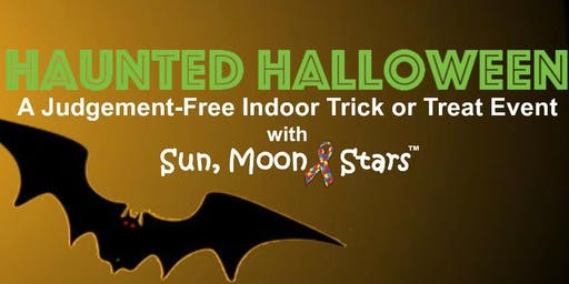 Haunted Halloween with Sun, Moon & Stars