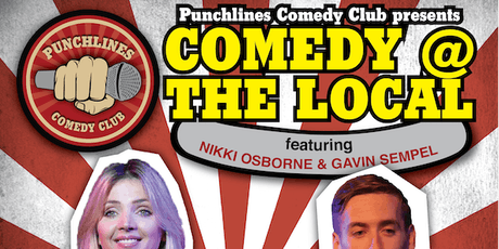 Comedy @ The Local - Friday 30 August, 2019 tickets