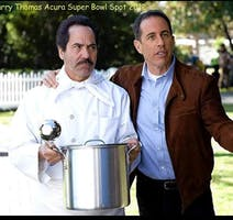 Seinfeld Fans, Festivus w Actor Larry Thomas Aka Soup Nazi and baby goats