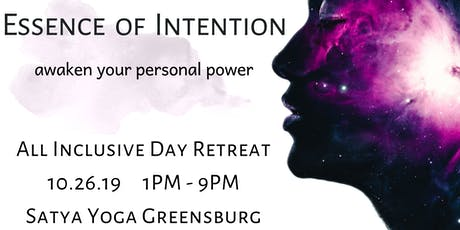 Essence of Intention tickets