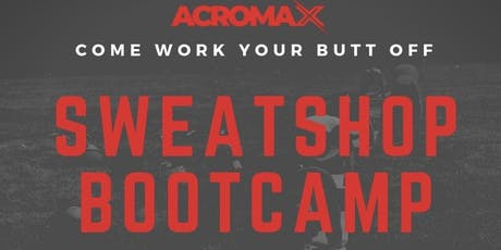 SweatShop Summer Bootcamp tickets