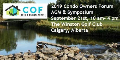 2019 Condo Owners Forum AGM and Symposium tickets