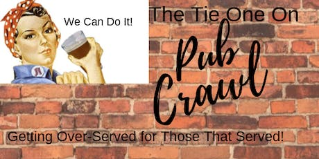 The Tie One On Pub Crawl tickets