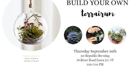 Build your own terrarium tickets