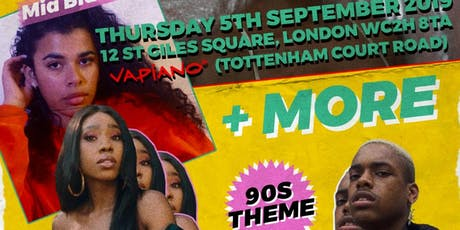 Vapiano x Frsh Sessions acoustic 90's Theme tickets
