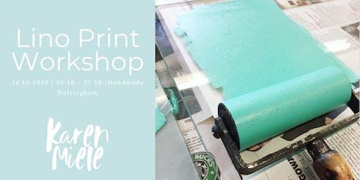 Beginners Lino Printing Workshop