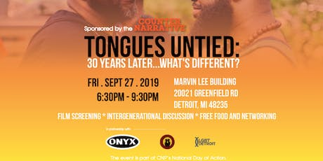 """""""Tongues Untied"""": 30 Years Later...What's Different?  tickets"""