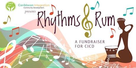 CICD's Rhythms & Rum Reception  tickets