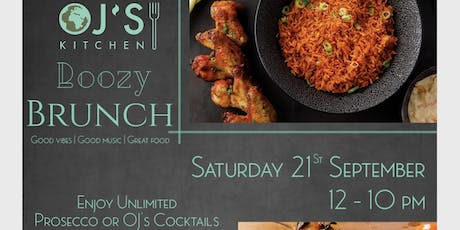 OJ'S KITCHENS BOTTOMLESS BRUNCH tickets