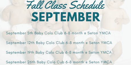 Baby Colo Club: Age appropriate activities to help your baby grow! 6-8 mon tickets