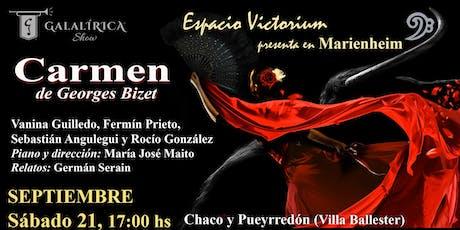 Carmen, de Georges Bizet entradas
