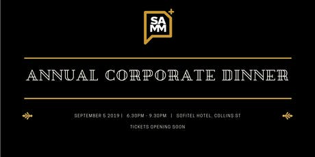 SAMM Annual Corporate Dinner 2019 tickets