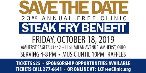 23rd Annual Steak Fry Benefit