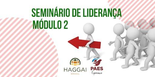 Seminário de Liderança Haggai - Módulo 2