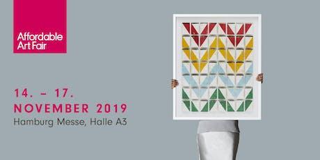 Affordable Art Fair Hamburg 2019 tickets