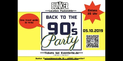 Back to the 90's Party 05.10.2019