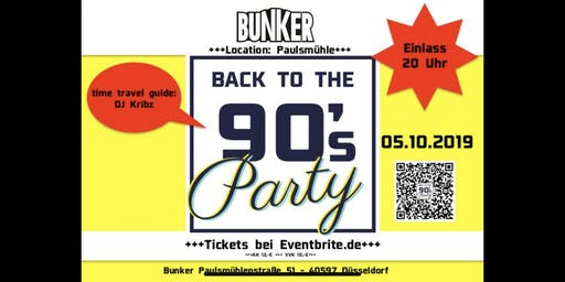 Back to the 90's Party 05.10.2019 (Pay Pal)