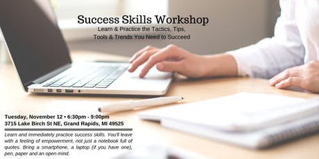 Success Skills Workshop: November 12 tickets