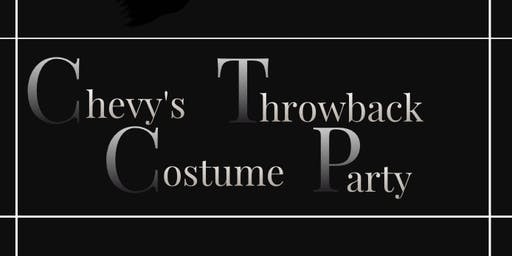 Chevy's Throwback Costume Party