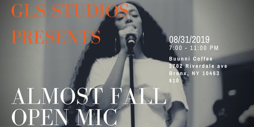 ALMOST FALL OPEN MIC