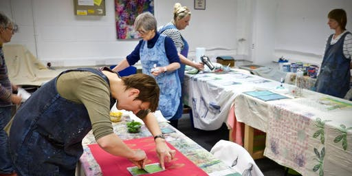 Screen Printing with Alison Hulme