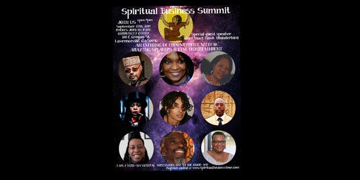 The Spiritual Business Summit Tour