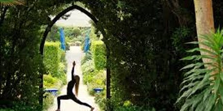 Hidden Garden in the city yoga retreat tickets