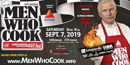 11th Annual MEN WHO COOK for the Will County Children's Advocacy Center