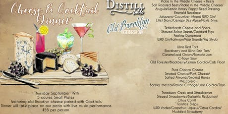 Cheese and Cocktails Dinner  tickets