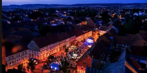 OpenAir Konzert - Orange Blue Band -  Bockenem - Träume werden im Ambergau wahr!