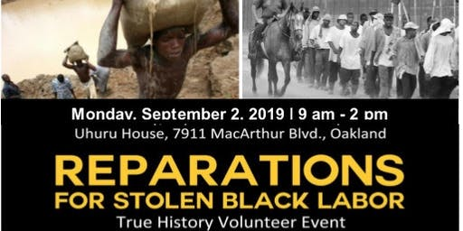 Reparations for Stolen Black Labor