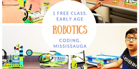 Free Demo Robotics Class for kids 6 years and Above tickets