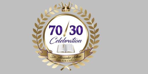 Word of Life 70/30 Celebration