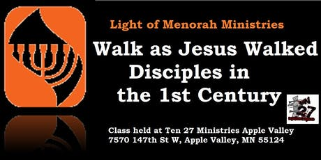 Walk as Jesus Walked - Disciples in the First Century A.D. tickets