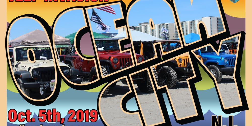 2019 Fall NJ Jeep Invasion - Ocean City, NJ