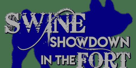 Swine Showdown in the Fort tickets
