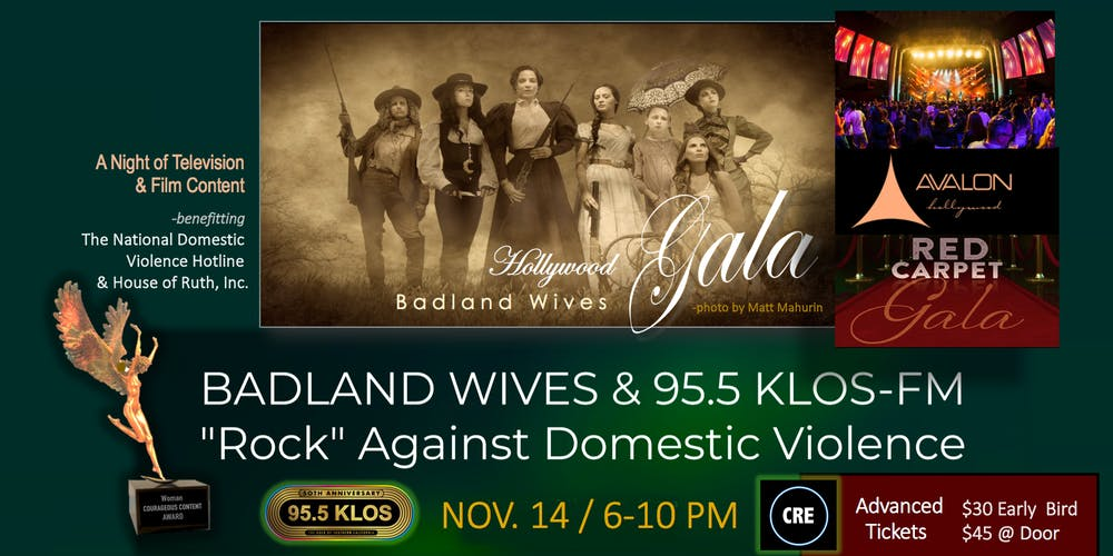 Badland Wives & 95 5 KLOS-FM Rock Against Domestic Violence