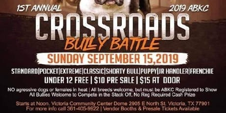 Crossroads bully battle tickets