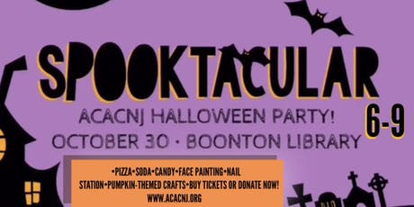 AcacNJ Spooktacular Halloween party tickets