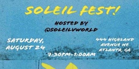 Soleil Fest tickets