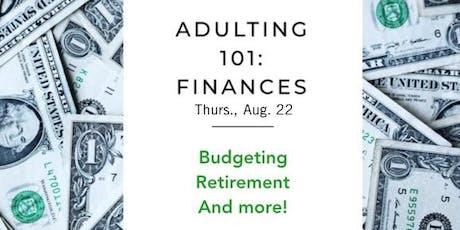 Adulting 101: Finance Workshop & DJCC Membership Meeting tickets