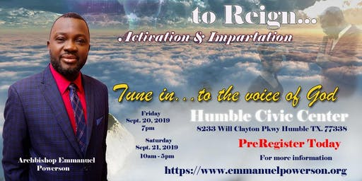 Prophetic Training to Reign Conference