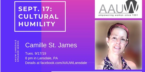 Cultural Humility with Dr. Camille St. James