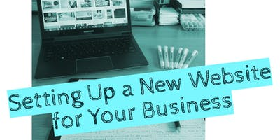 Setting up a new website for your business