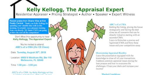 ABCs of a CMA with Kelly Kellogg (2 Continuing Ed Credits)