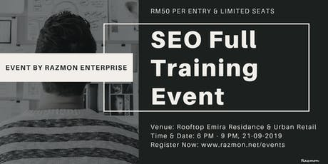 SEO Full Training Event tickets