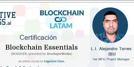 "Blockchain LATAM ""Certificación Blockchain Essentials"" boletos"
